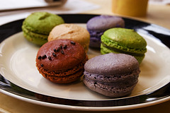 macarons from Macaron Cafe